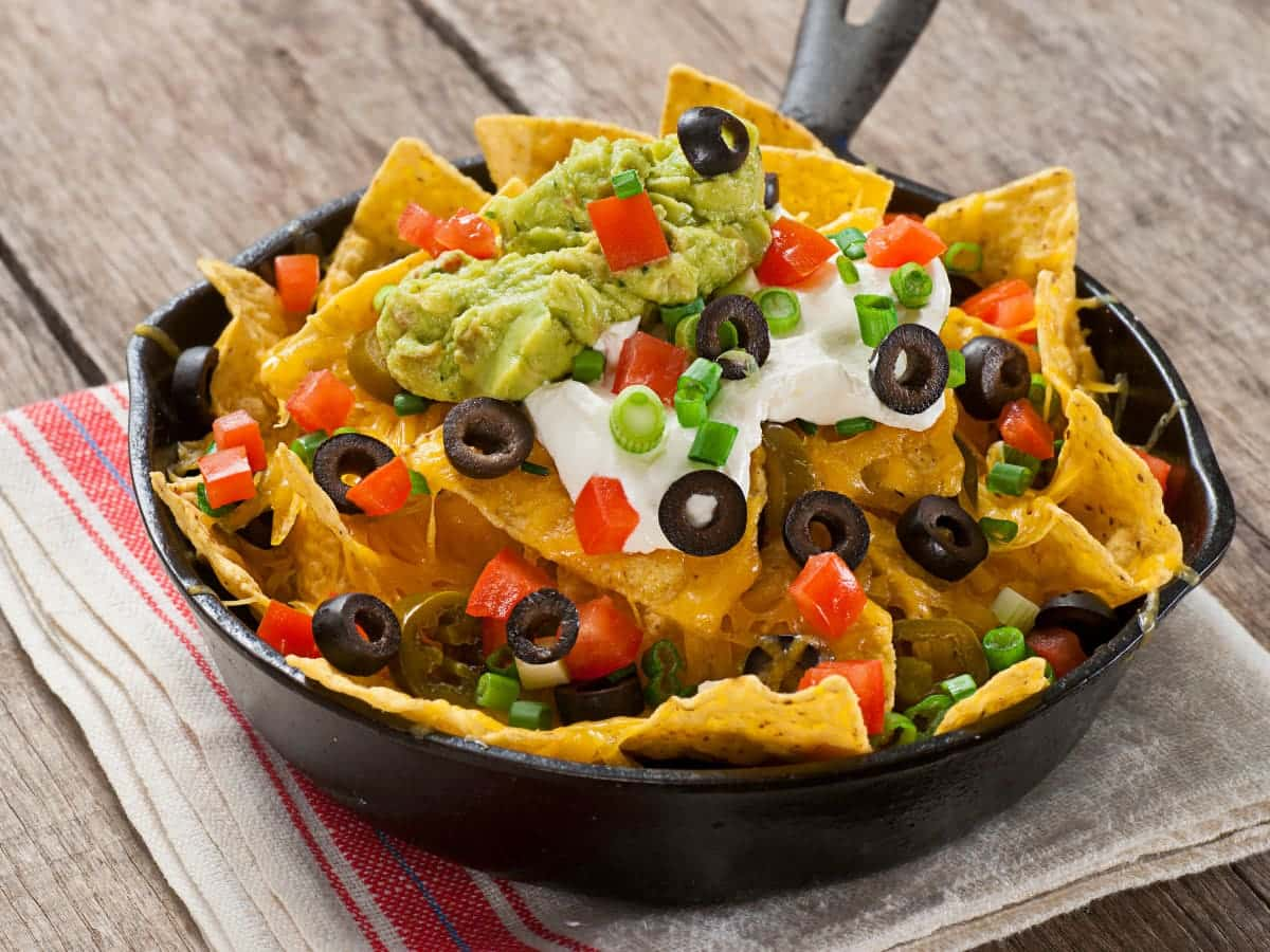 One of the fun facts about nachos is that they were invented by Mr. Nacho in Mexico.