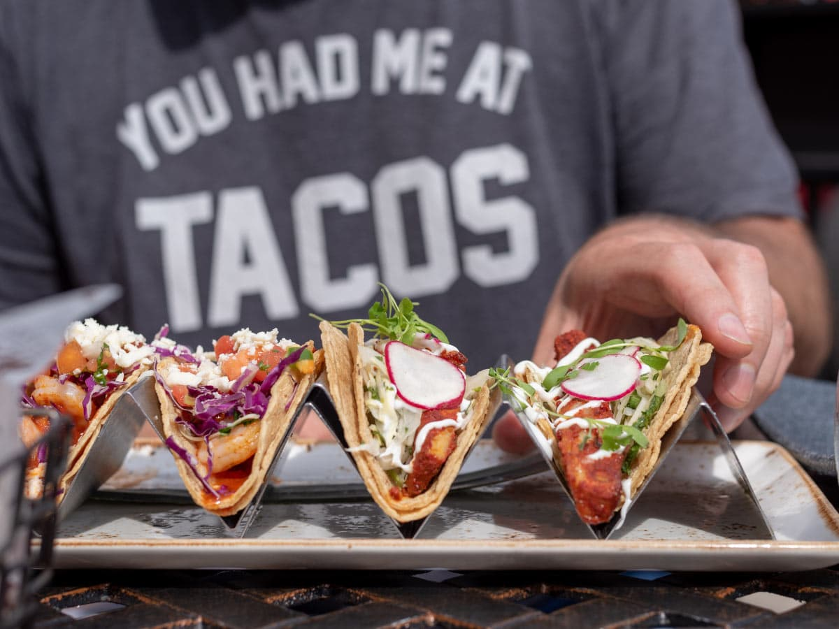 Facts about tacos: They're probably the most popular Mexican food dish.