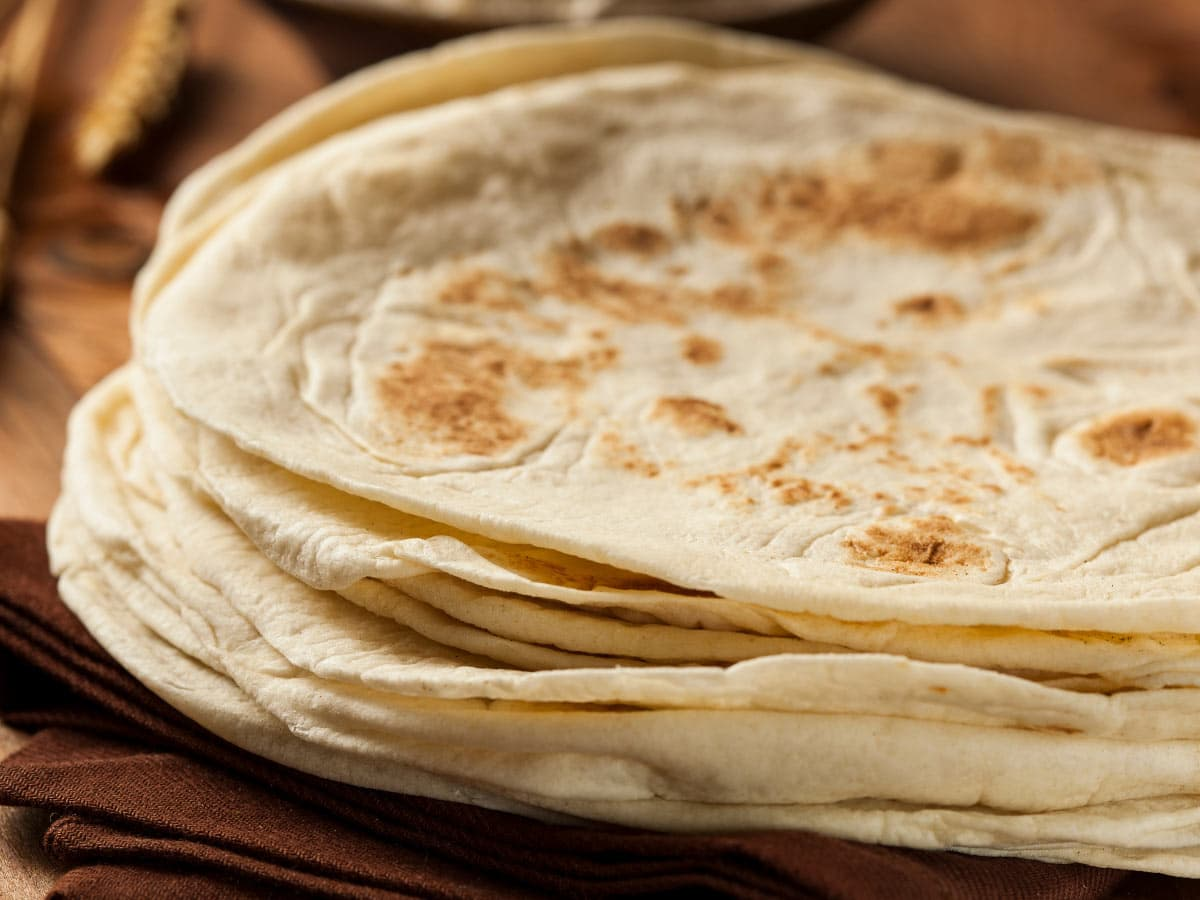Fun Mexican food fact: Mexican families gobble up to two pounds of tortillas a day.