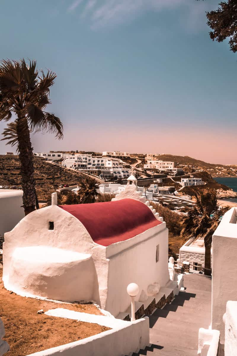 Mykonos has as many churches as families.