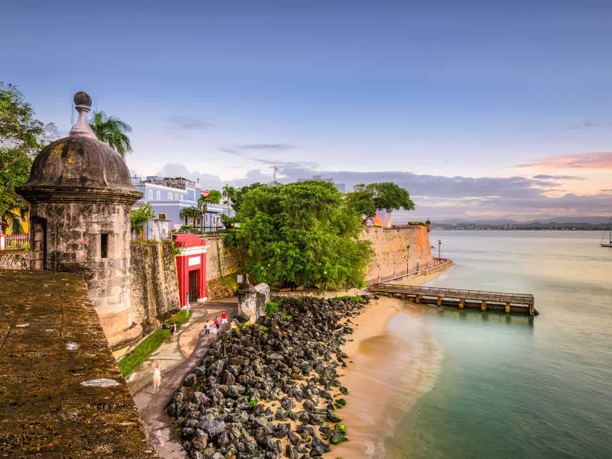 There are lots of lovely places to visit in Old San Juan, Puerto Rico.