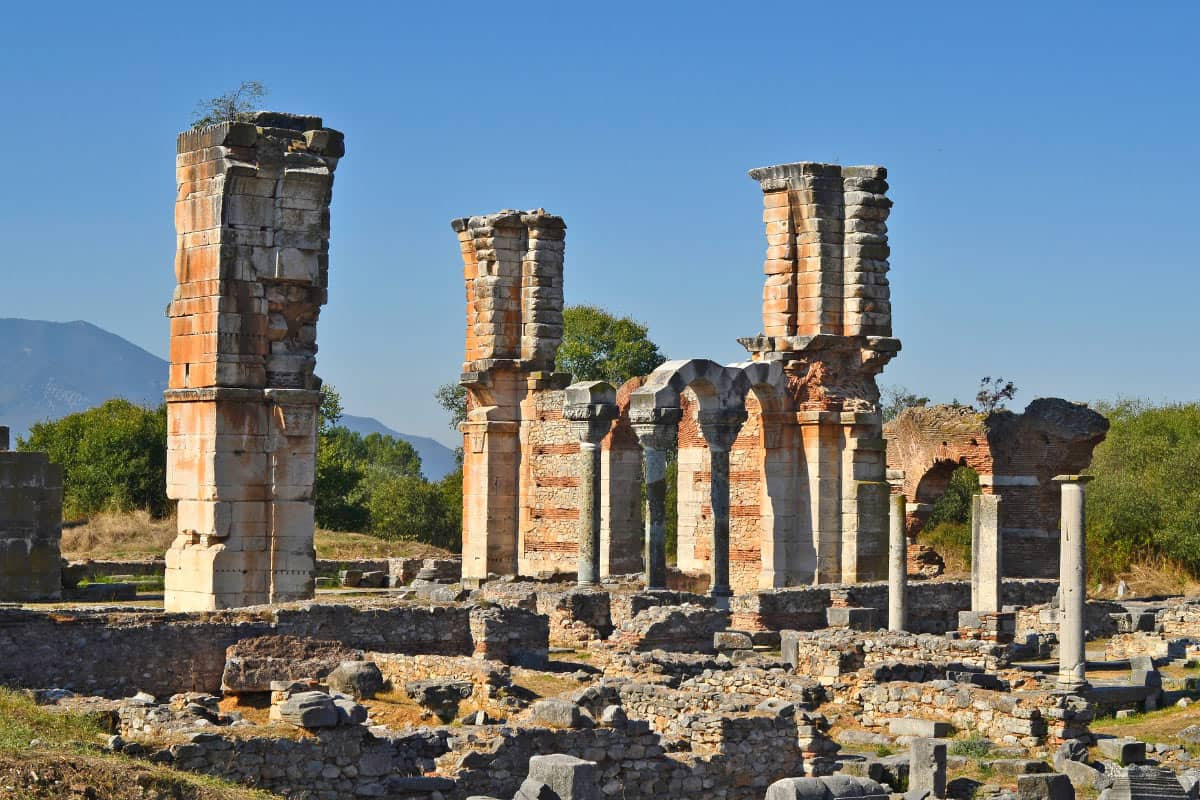 The Greek ruins of Philippi are fascinating to visit!