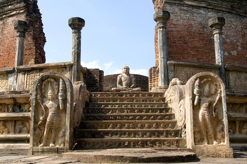 The Quadrangle was the sacred heart of the ancient city of Polonnaruwa.