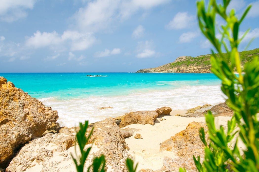 Saline Beach is one of the most secluded beaches in St. Barts.