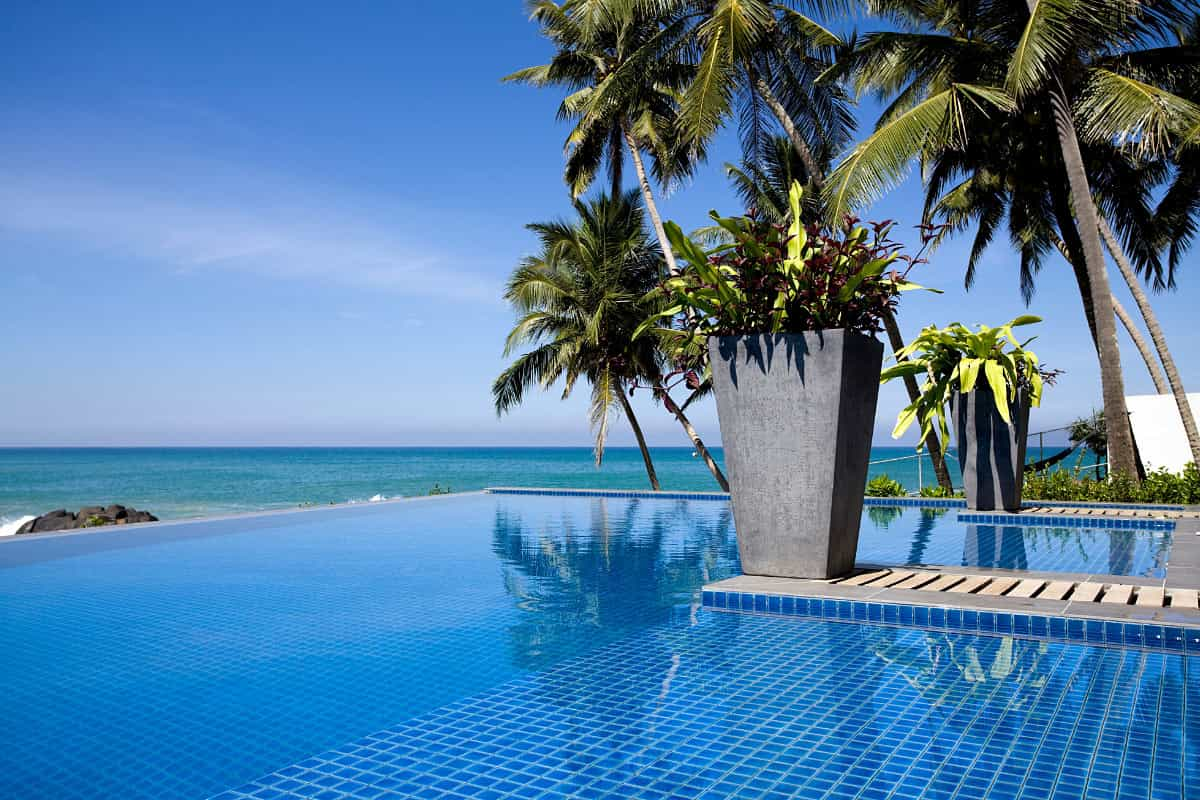 Of course, some of the best hotels in Sri Lanka are by the ocean.