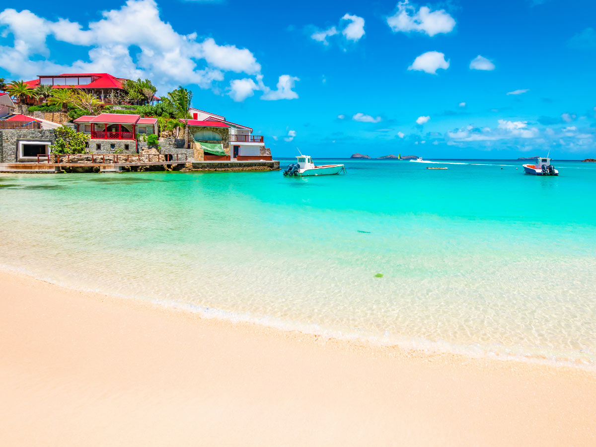 The best time to visit St. Barts is December to March (but this is also high season).