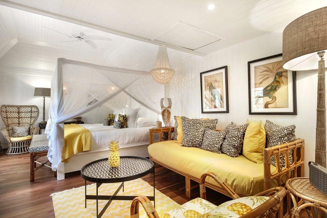 Guest room at Villa Marie St. Barth