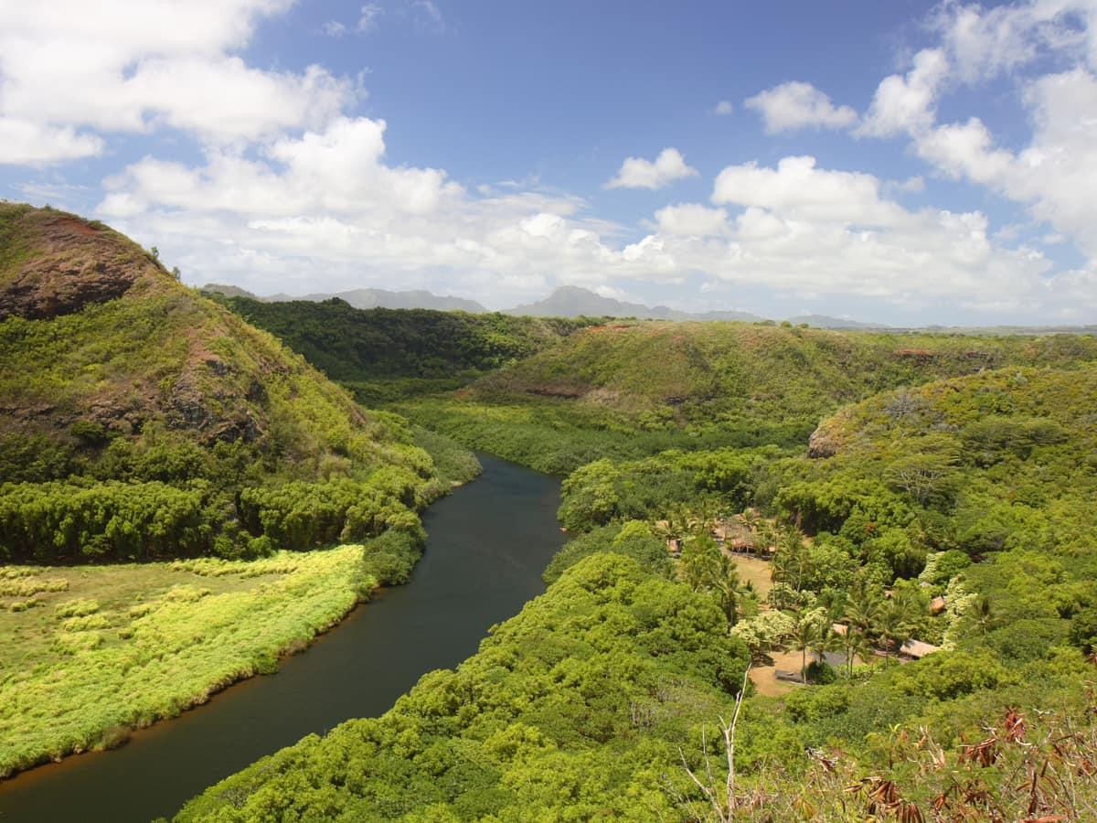 You can paddleboard the Wailua River in Kauai.