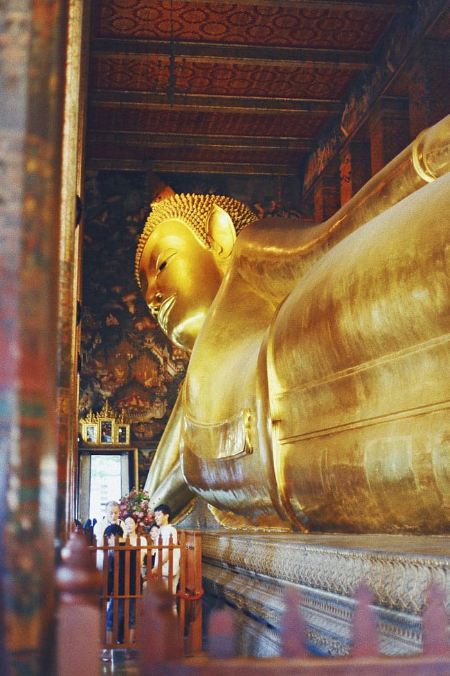 The Wat Pho Temple is one of the best things to see in Bangkok.