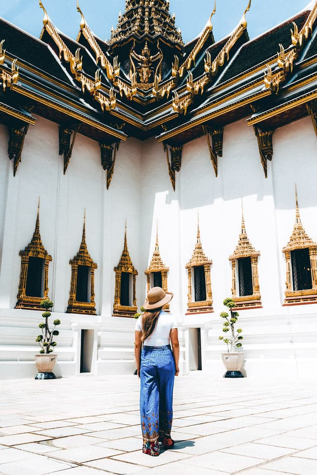 Visiting the Grand Palace, Bangkok