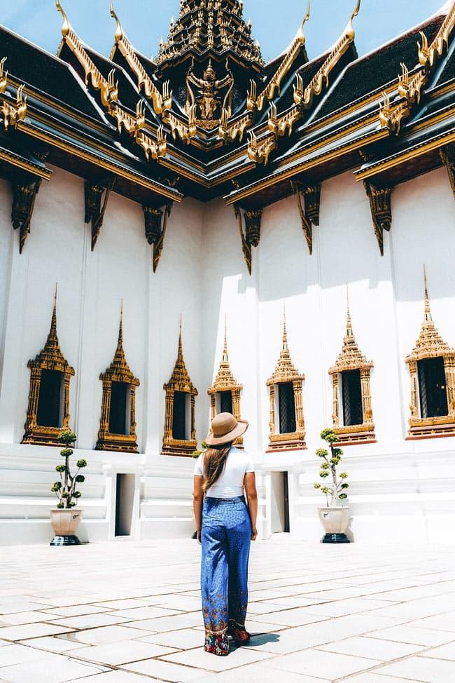 Visiting the Grand Palace, Bangkok