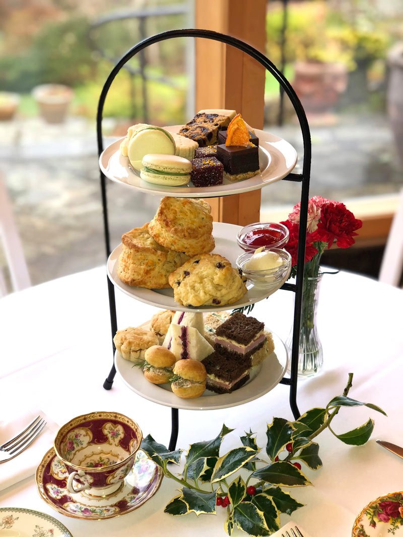 Mmmm... What's for afternoon tea at Abkhazi Garden?