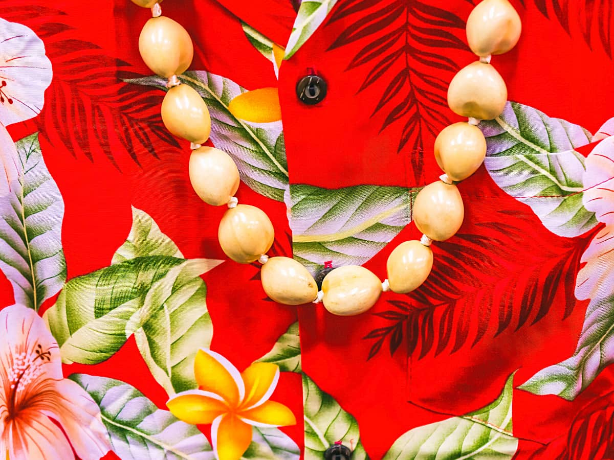 An Aloha shirt is one of the best souvenirs from Hawaii.