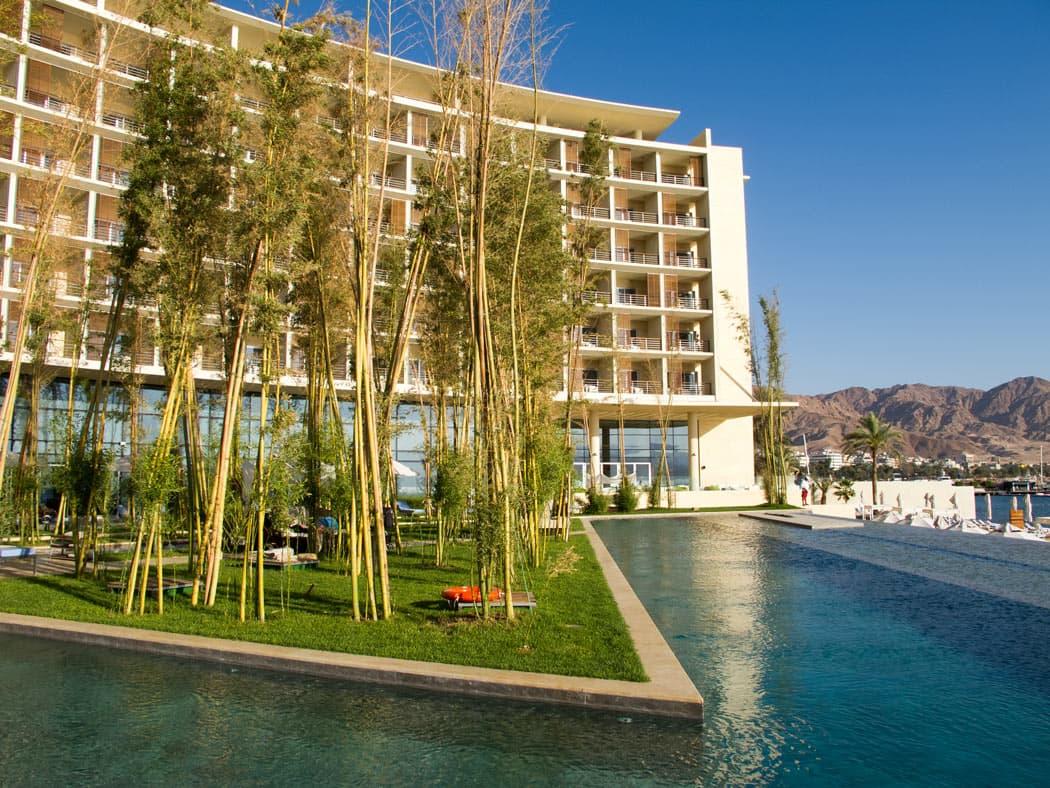 The Aqaba Kempinski is one of the best luxury hotels in Jordan.