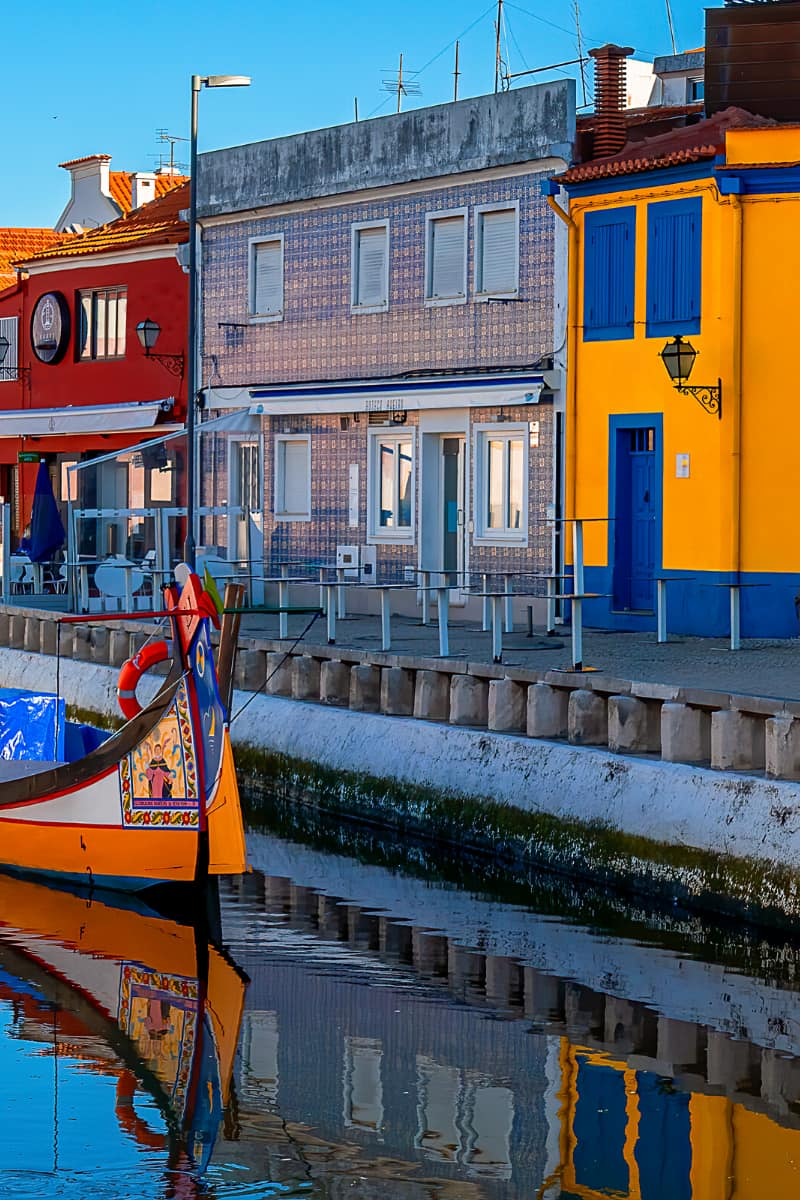 Aveiro is one of the best day trips from Porto.