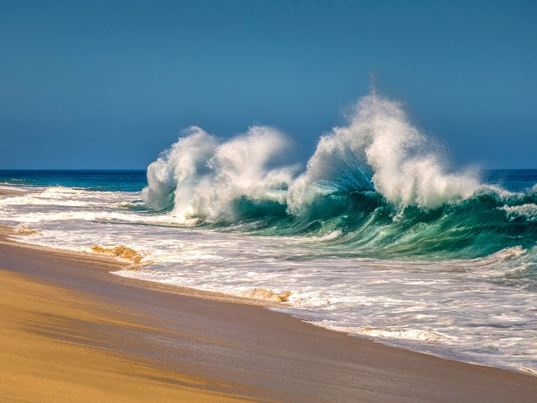 Many beaches in Los Cabos are not safe for swimming.