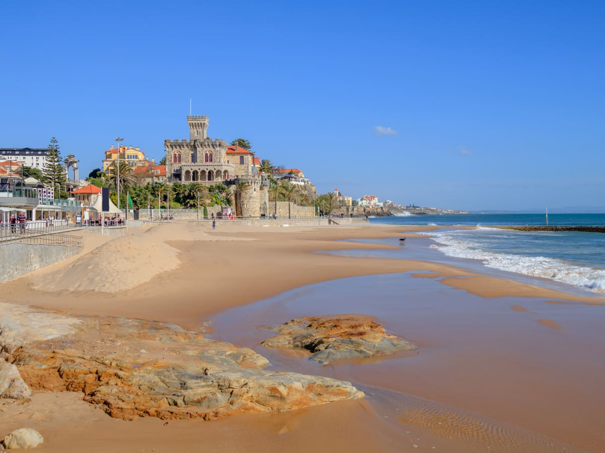 Lovely Cascais, once the vacation retreat for Portuguese royals, has world-class  beaches.