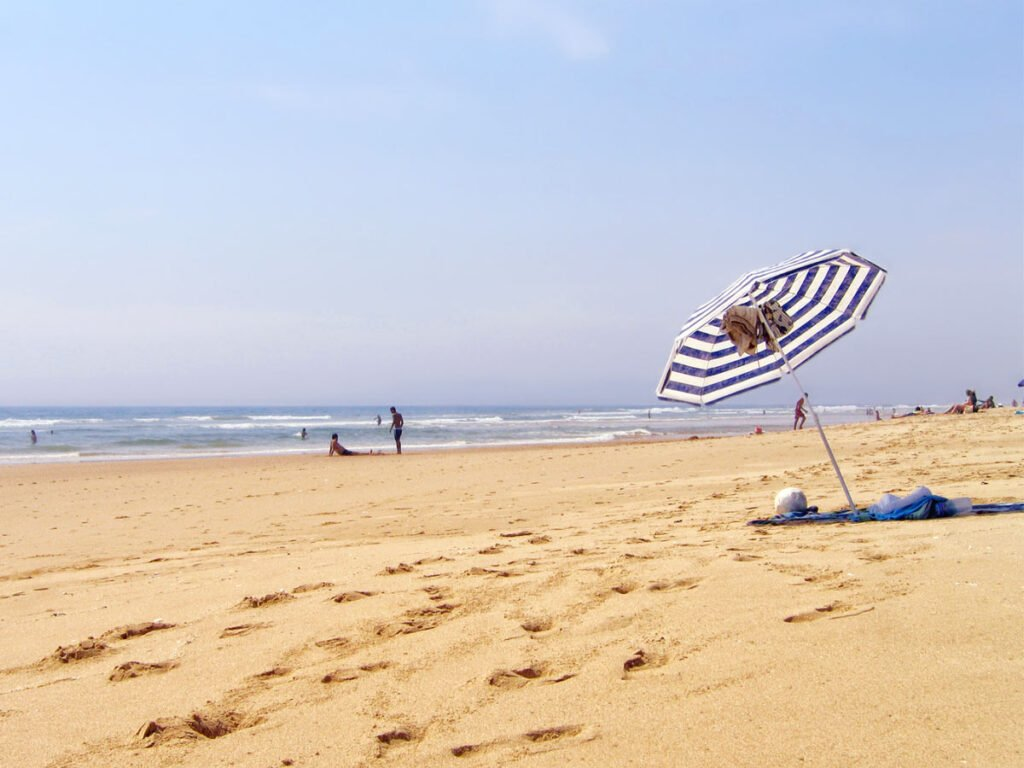 Costa da Caparica is an off-the-beaten-track beach near Lisbon.