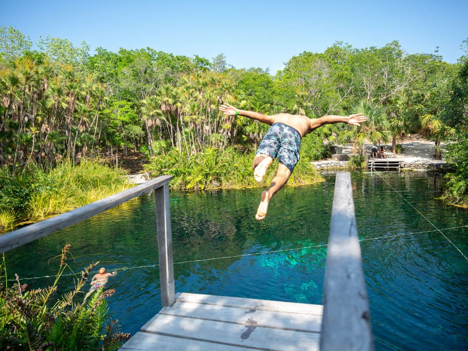 When it comes to cenotes, Cancun is better than Cabo.