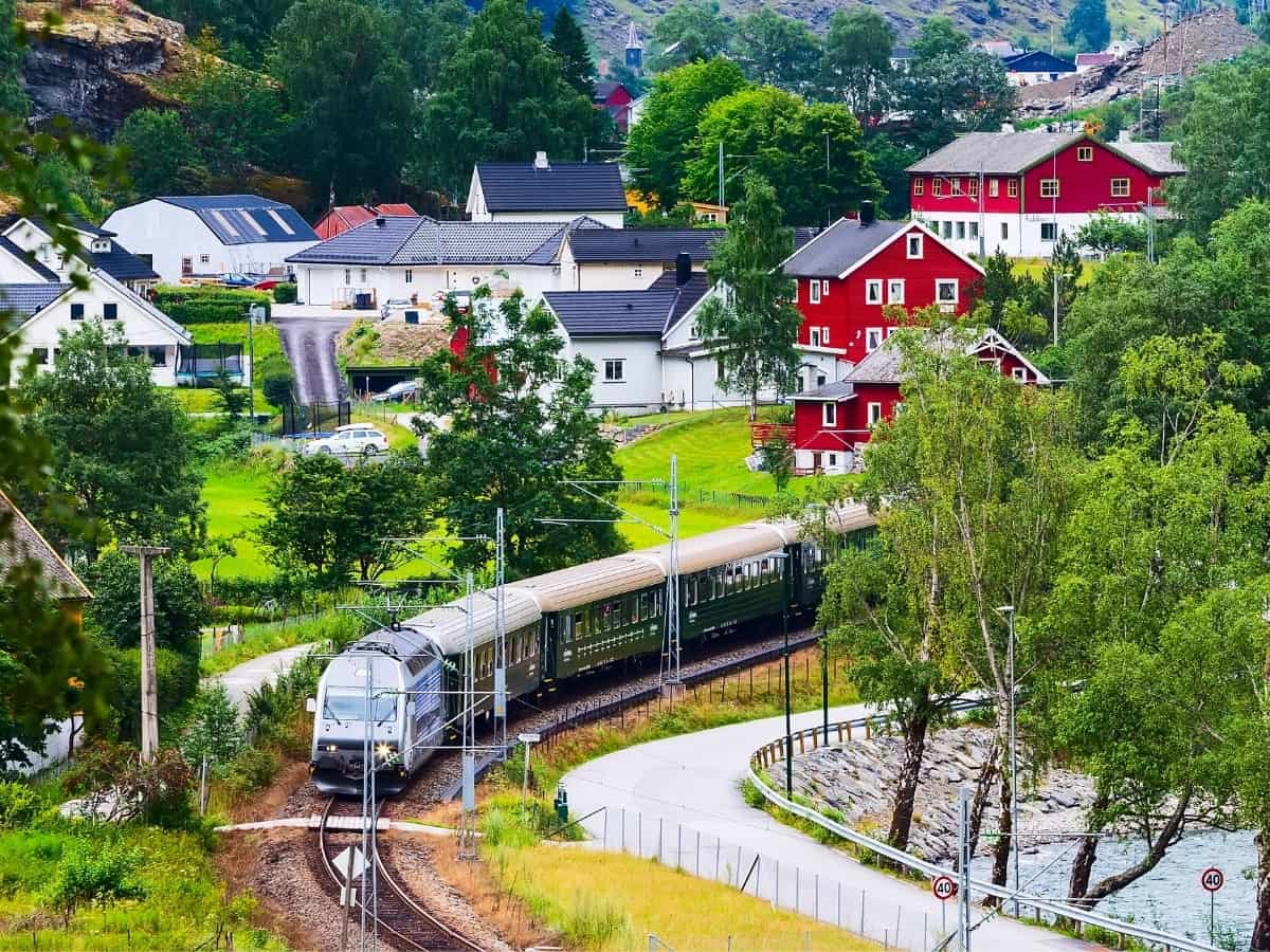 The Flam Railway train ride is one of the world's most beautiful train rides!