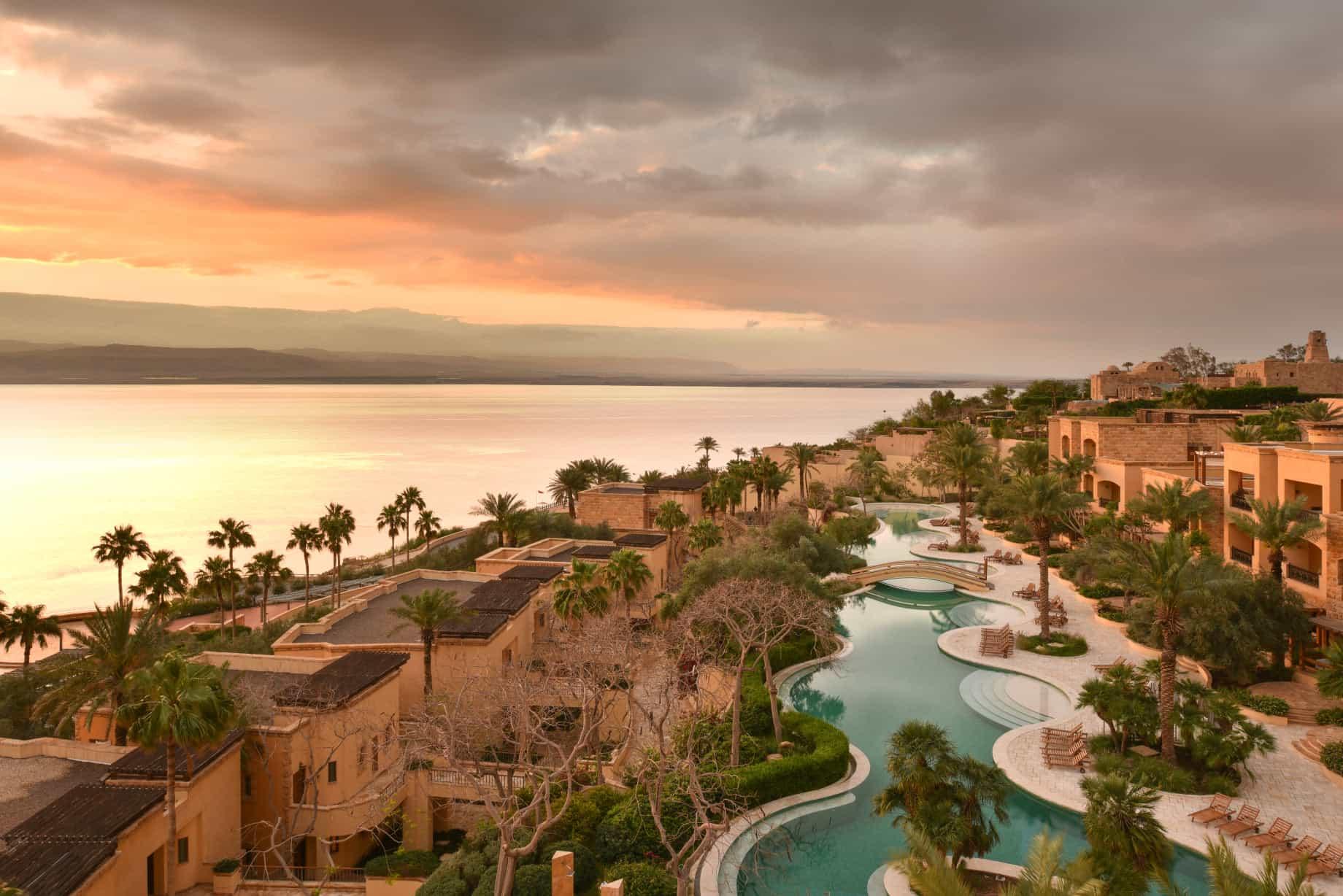 The Kempinski Hotel Ishtar Dead Sea is one of the best 5-star hotels in Jordan.