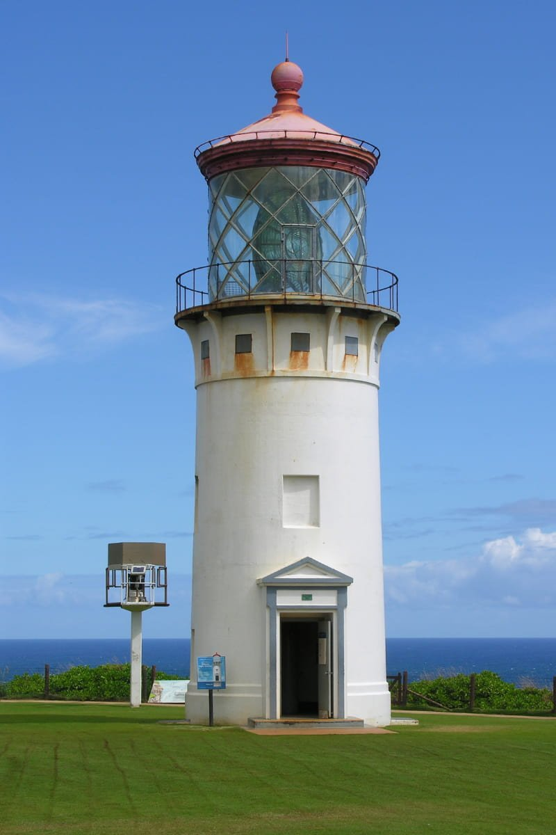 You get splendid ocean views from the Kilauea Lighthouse (and see interesting birds).