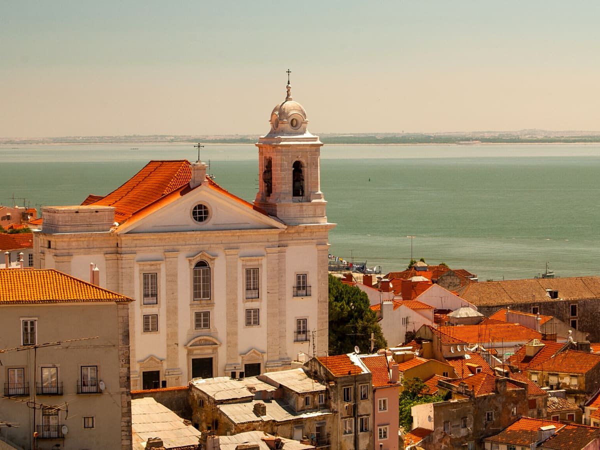 The Alfama district is Lisbon's oldest and most historic area.