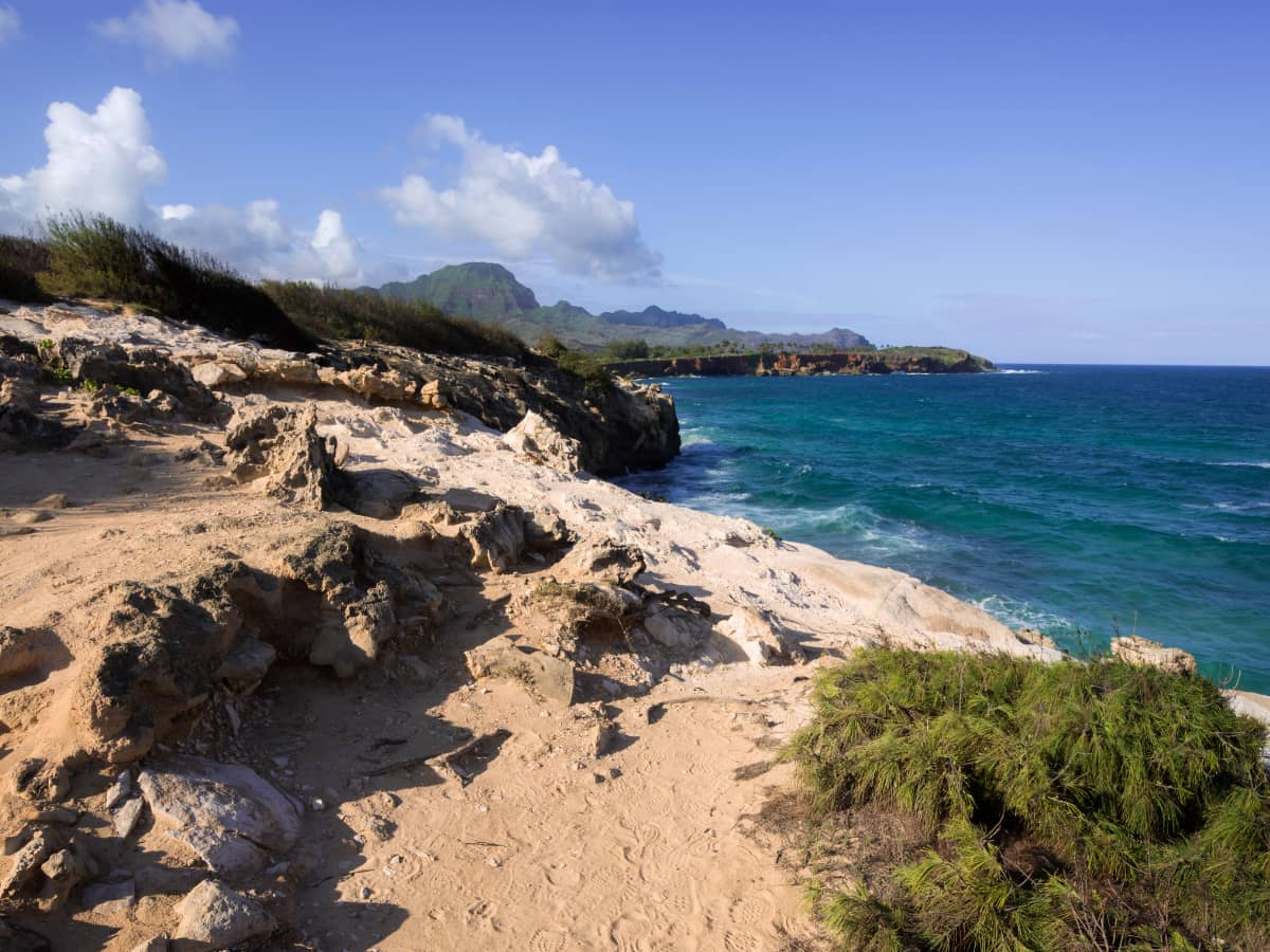 One of the best free things to do on Kauai for outdoor exercise in nature is to walk the Maha'ulupu Heritage Trail.