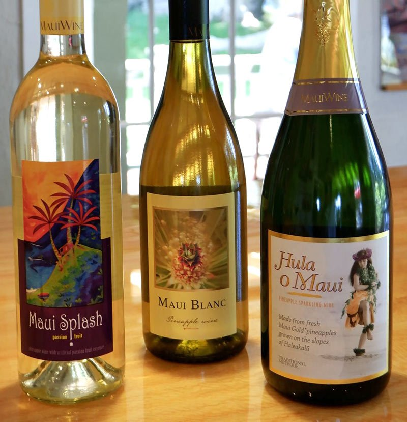 Pineapple wine is the ideal gift from Hawaii for any wine lover.