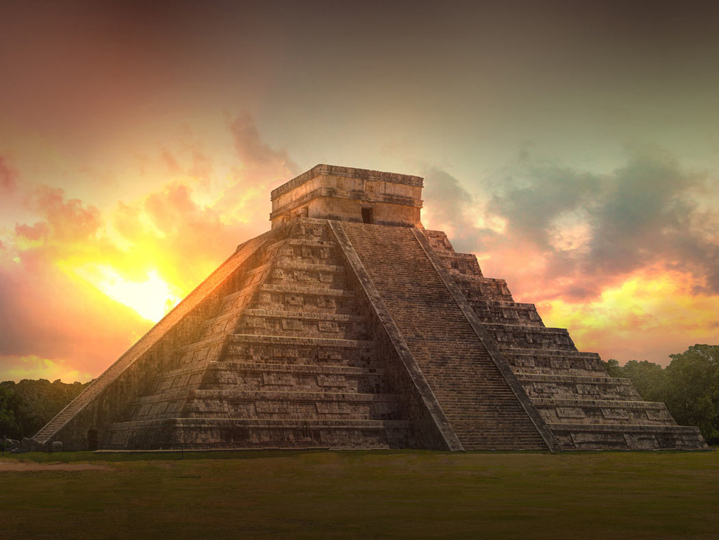 Cancun has many Mayan ruins nearby for day trips.