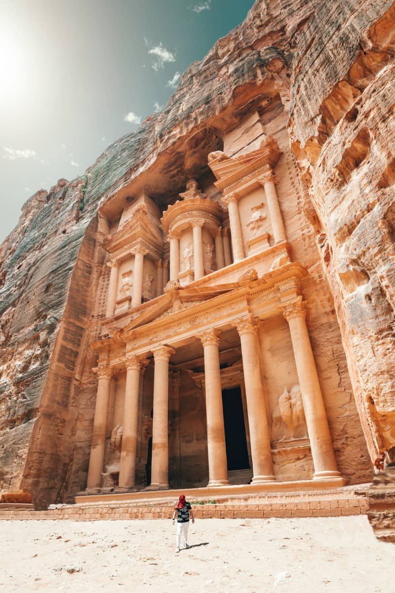 The Movenpick Resort is right by the entrance to Petra.