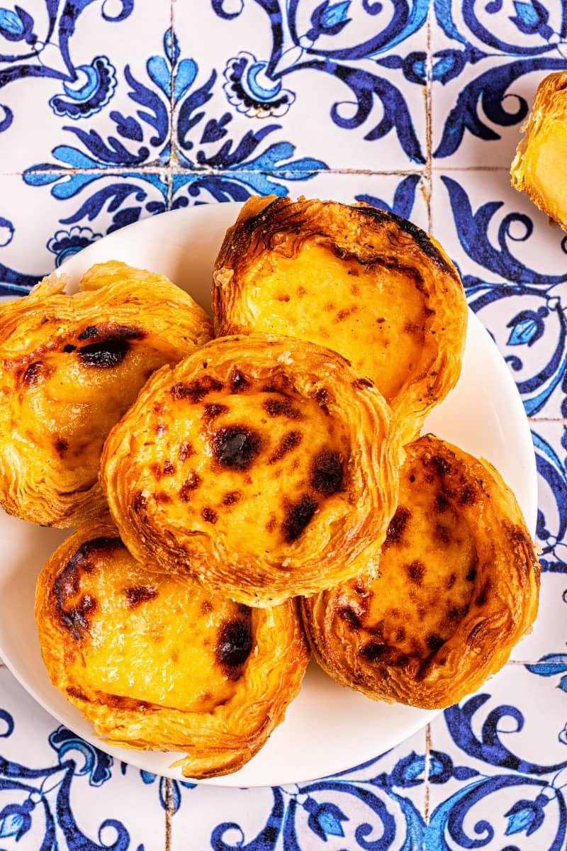 Portugal's namesake egg tart (pasteis de nata) originated in the Belem district of Lisbon.