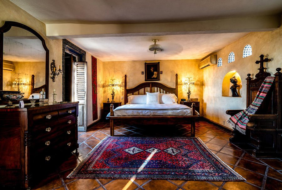 Smack-dab in the old town, Hacienda San Angel is one of the best hotels in Puerto Vallarta.
