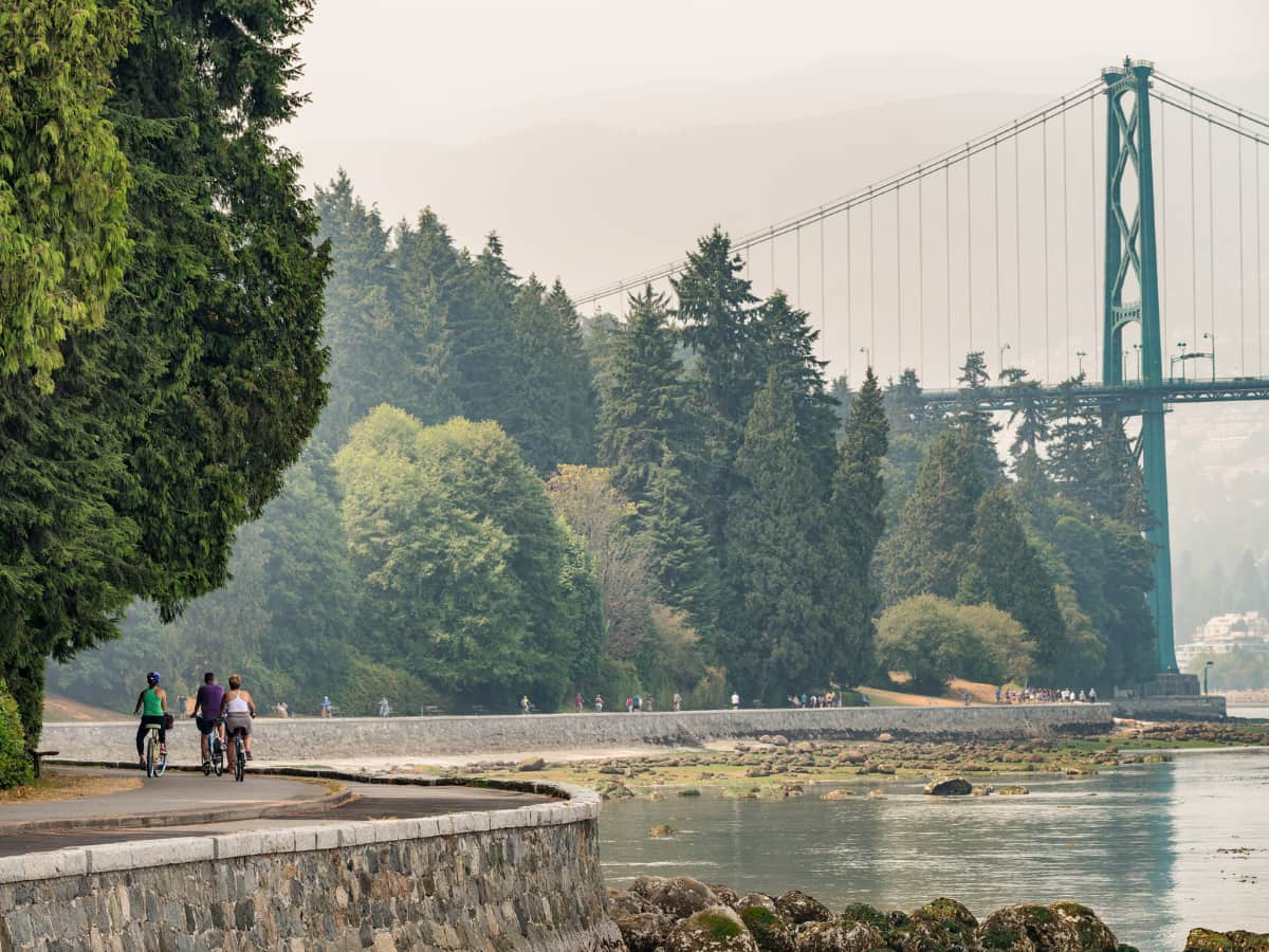 Beloved by everyone, Stanley Park is one of the largest urban parks in North America.