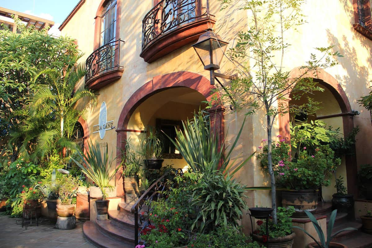 Villa Ganz is one of the best boutique hotels in Guadalajara