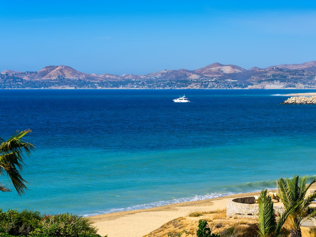 Where the desert collides with the sea – that's Cabo.