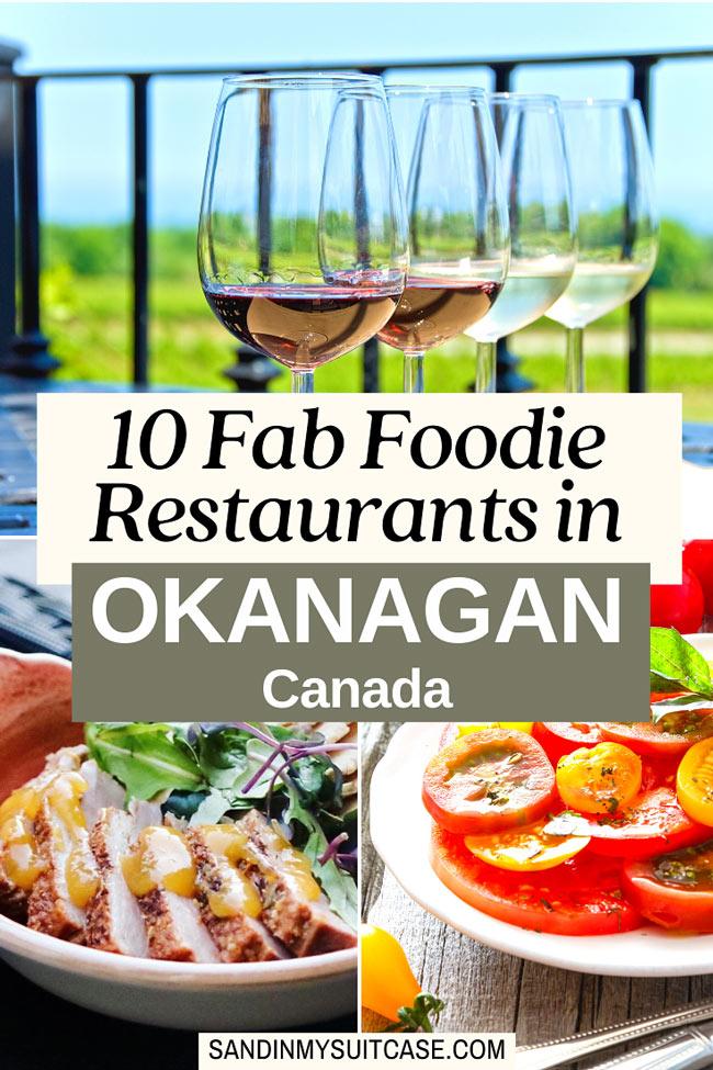 Best Naramata restaurants