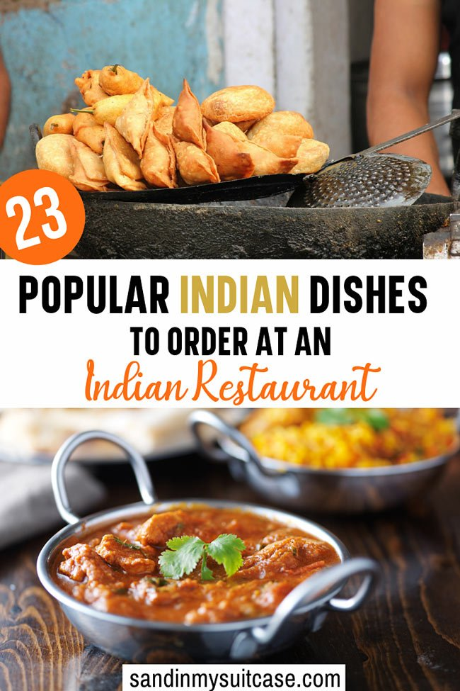 Popular Indian food dishes to order at an Indian restaurant