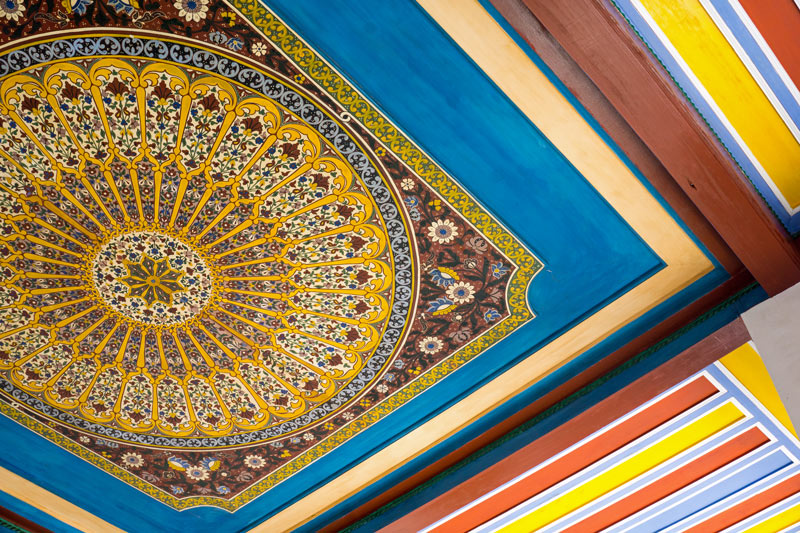 """The name Bahia means """"brilliance"""" in Arabic, and the ceilings of the Bahia Palace in Marrakech are certainly brilliant!"""