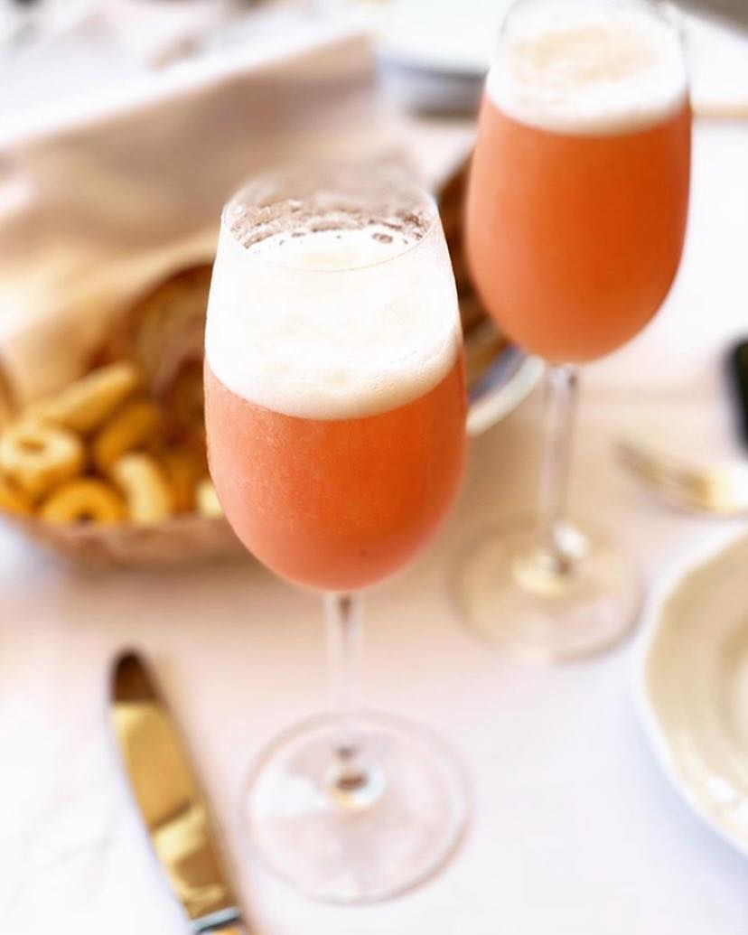 One of the best romantic things to do in Venice is to sip Bellinis at Hotel Cipriani.