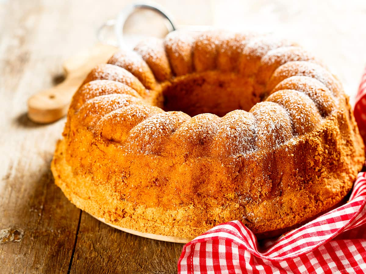 Kuglof is a Croatian bundt cake.