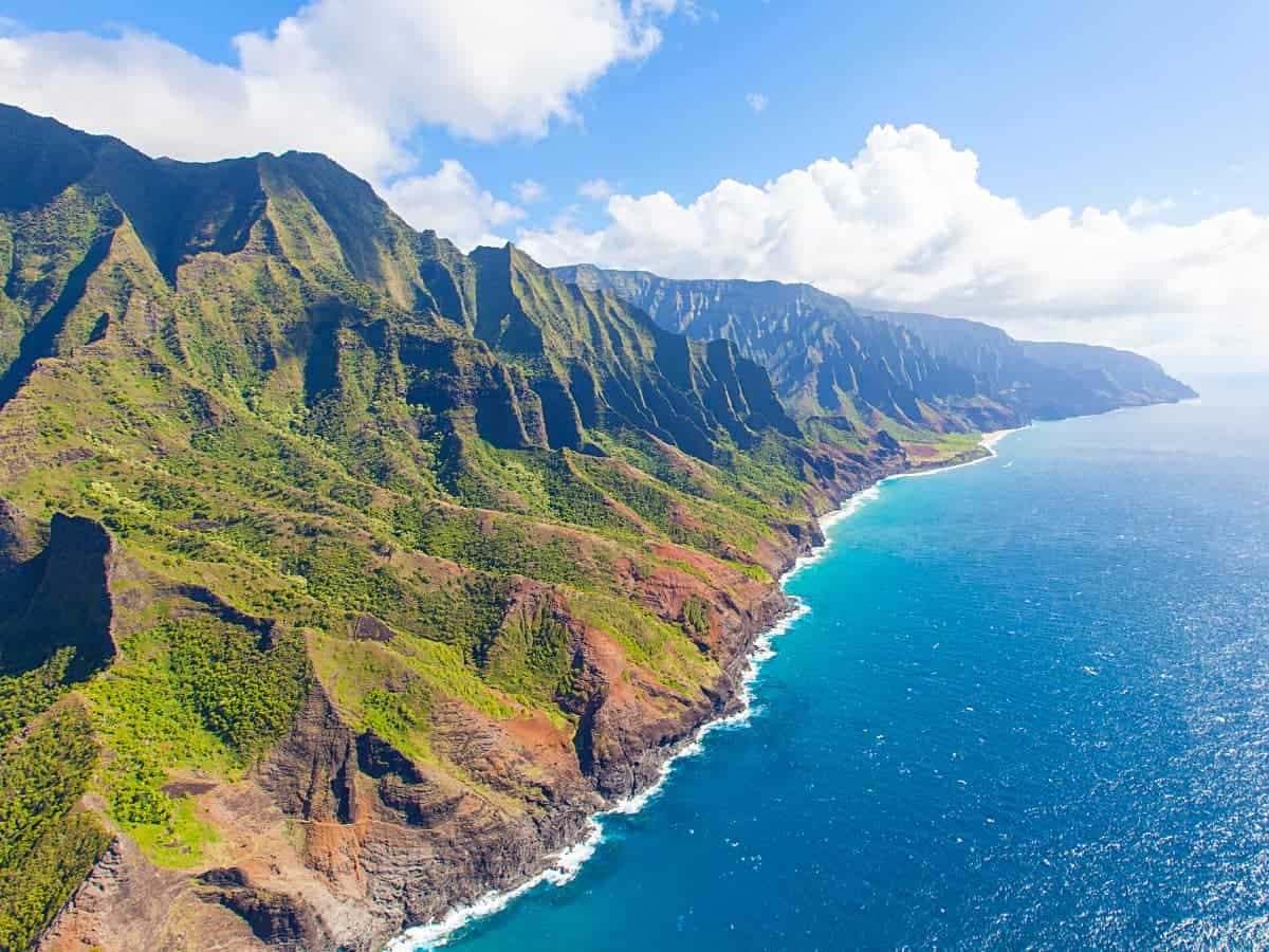 A scenic helicopter tour is the best way to really take in Kauai's stunning landscape
