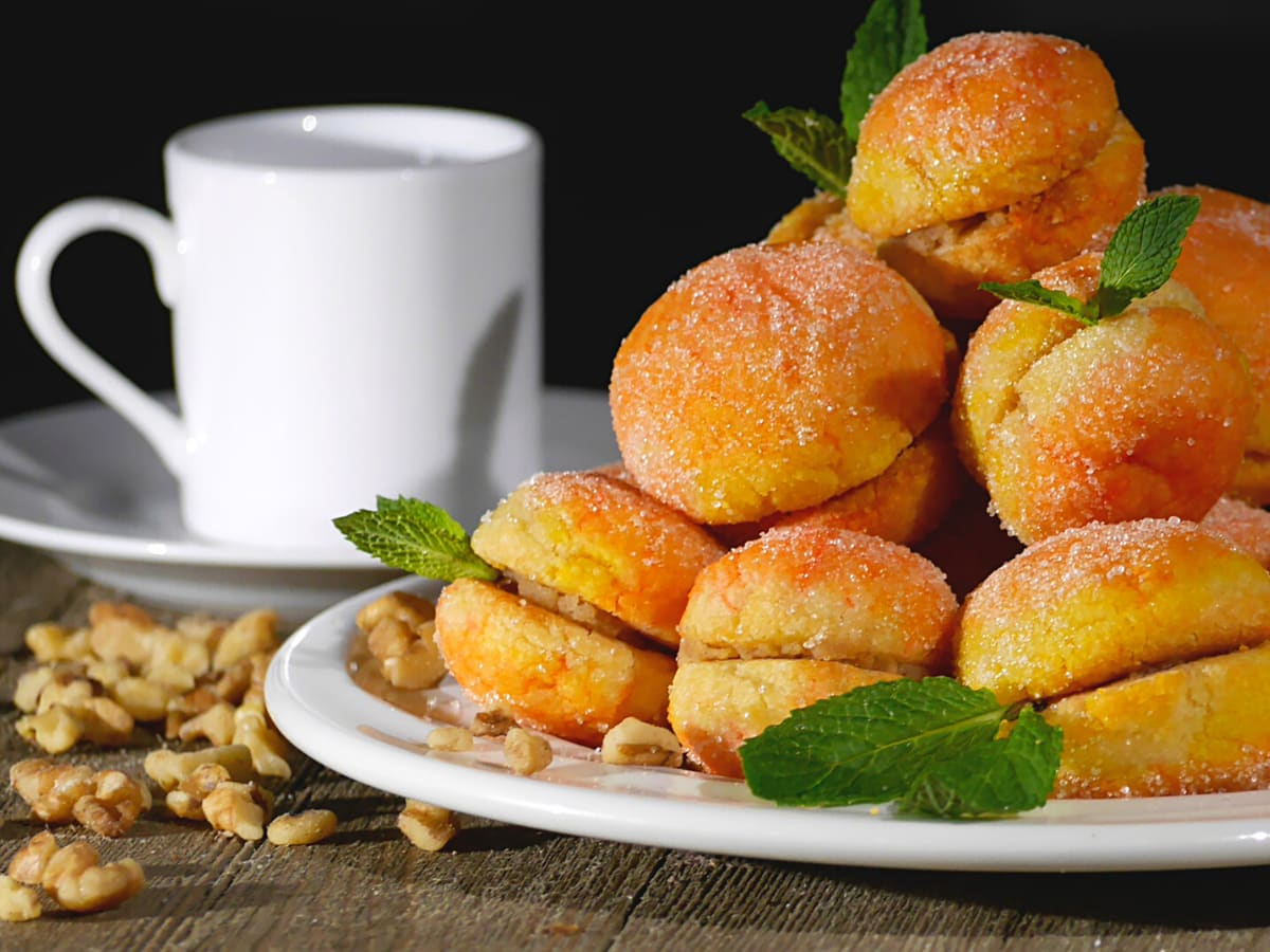 Croatian desserts (like breskvice or peach cookies) are sinfully delicious!