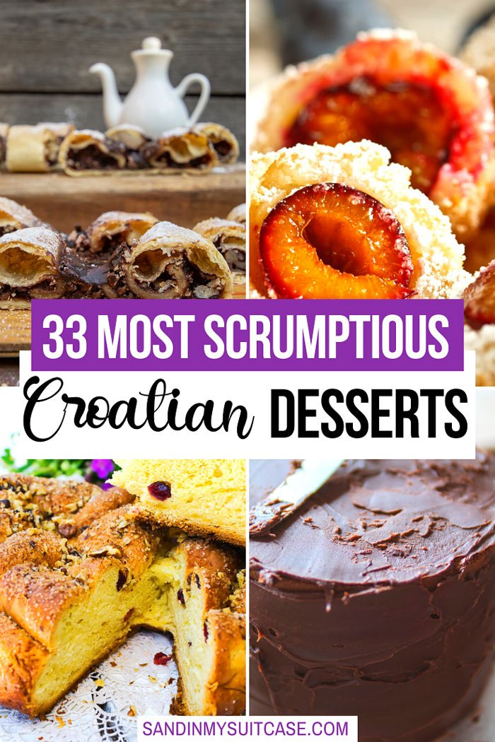 33 Best Croatian Desserts