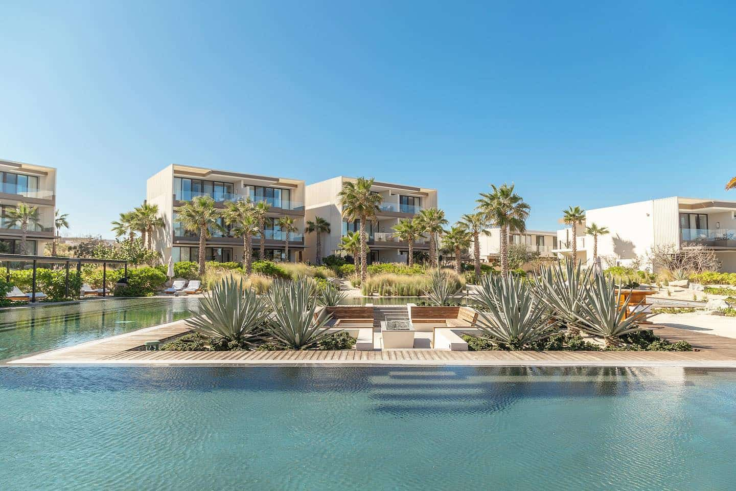 The most luxurious place to stay on the East Cape is the Four Seasons Resort Los Cabos at Costa Palmas.