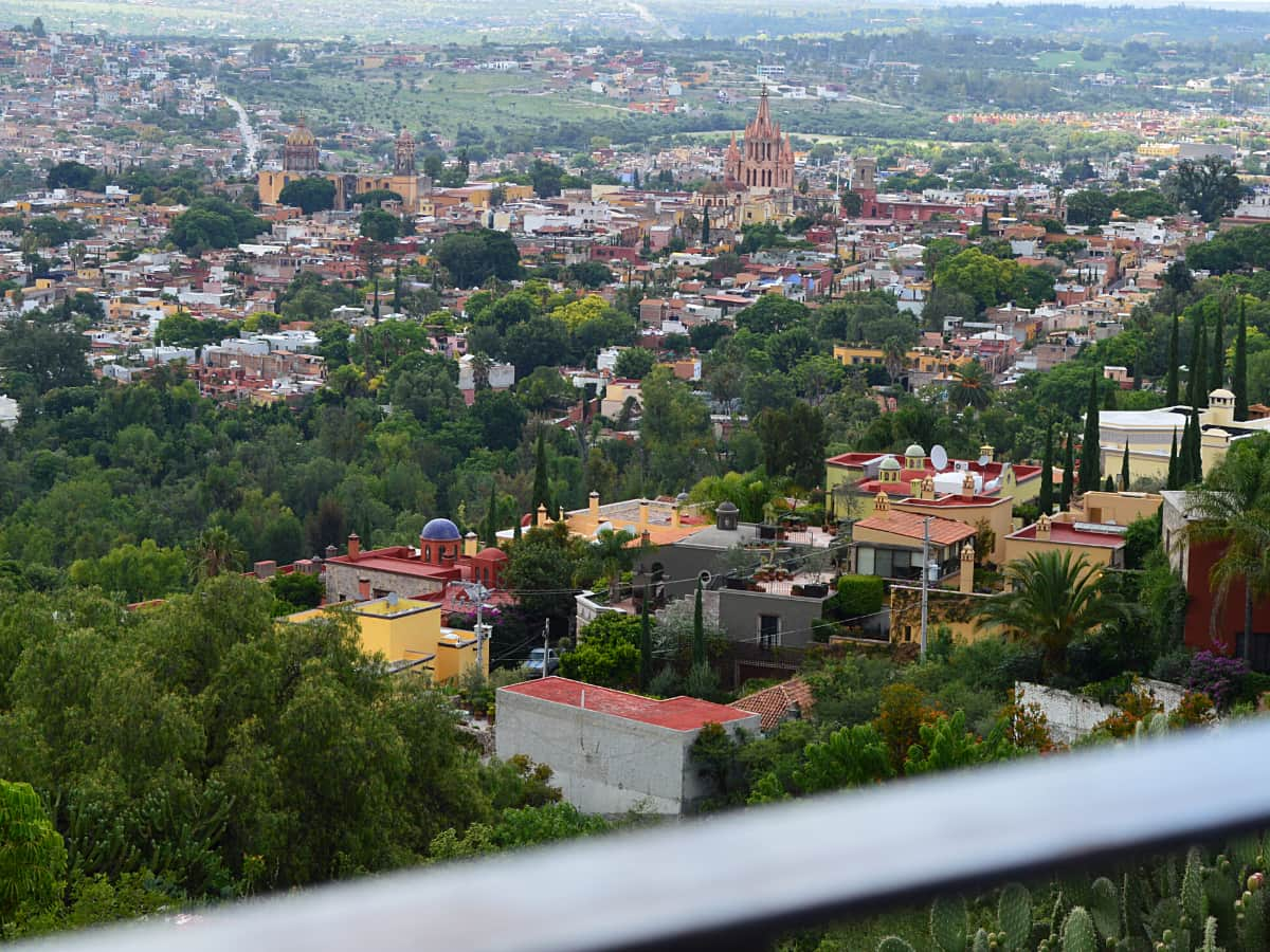 For a bird's eye look at San Miguel del Allende, make your way to El Mirador – a terrace with panoramic views of the city.