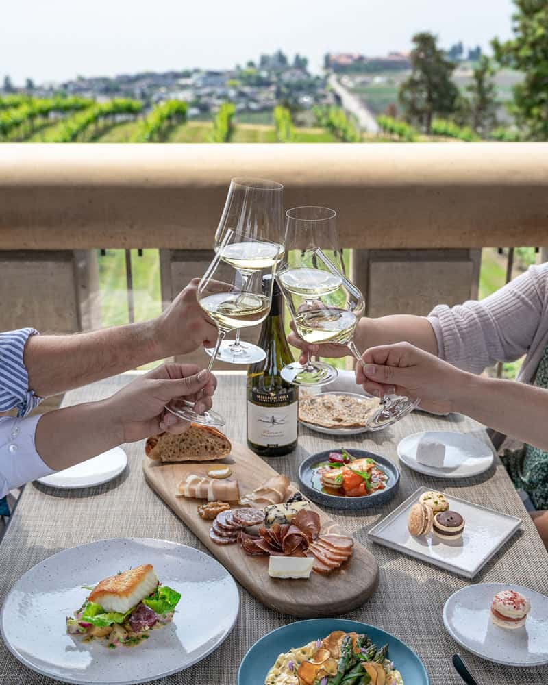 You can never go wrong dining at the Terrace at Mission Hill -- it's one of the best Okanagan winery restaurants!