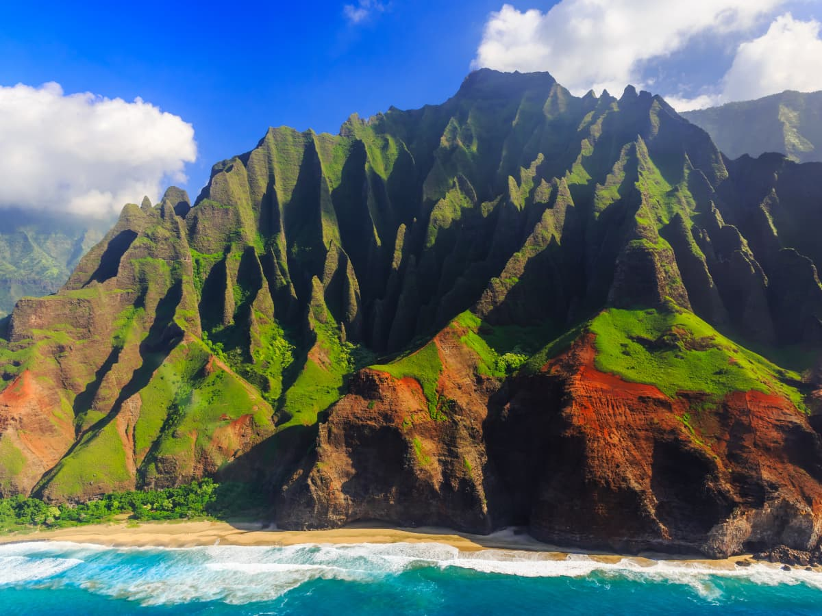 Kauai's Na Pali Coast is one of the world's most spectacular stretches of coastline.
