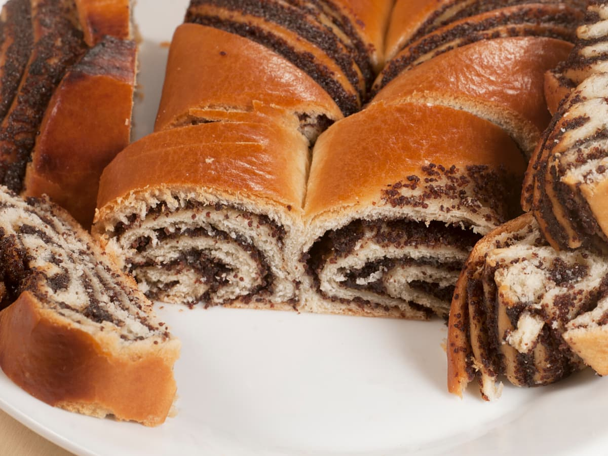 Makovnjaca (or poppyseed rolls) are one of the most popular desserts in Croatia.