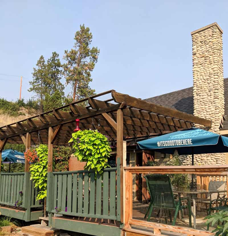 Offering comfort food and craft beer, the Naramata Pub is one of the best restaurants in Naramata.